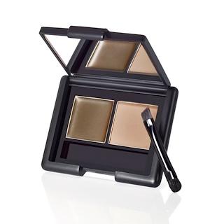 E.L.F. Cosmetics, Eyebrow Kit, Gel & Powder, Ash, 0.123 oz (3.5 g)
