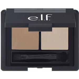 ЕЛФ Косметикс, Eyebrow Kit, Gel & Powder, Ash, Gel 0.05 oz (1.4 g) Powder 0.08 oz. (2.3 g) отзывы покупателей