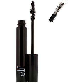 E.L.F. Cosmetics, Mineral Infused Mascara, Black, 0.25 fl oz (7.5 ml)