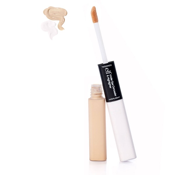 E.L.F. Cosmetics, Under Eye Concealer & Highlighter, Fair/Glow, 0.17 oz (5 g) Each