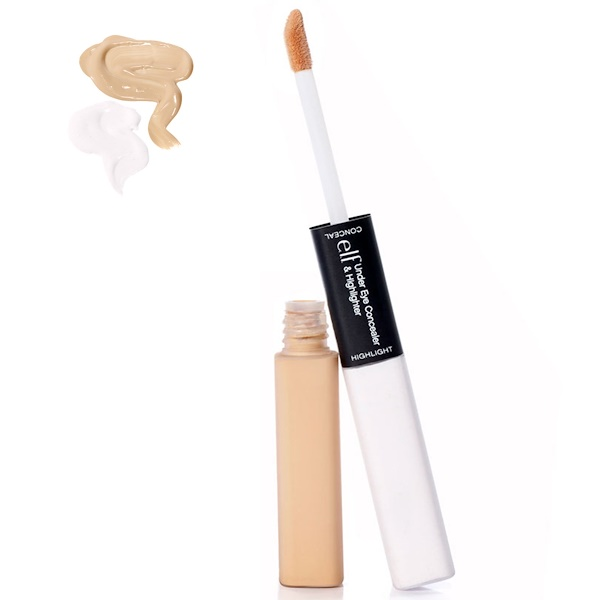 E.L.F. Cosmetics, Under Eye Concealer & Highlighter, Glow/Light, 0.17 oz (5 g)/0.17 oz (5 g)