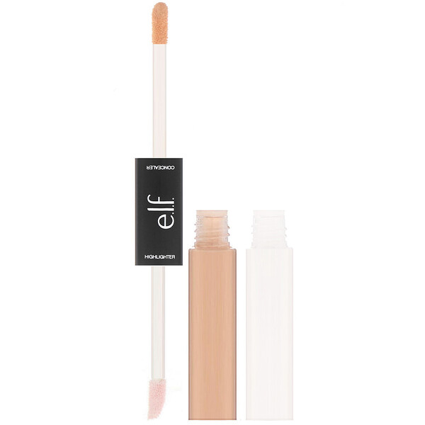 Under Eye Concealer & Highlighter, Medium/Glow, 0.4 fl oz (12 ml) Each