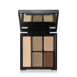 E.L.F. Cosmetics, Clay Eyeshadow Palette, Necessary Nudes, 0.26 oz (7.5 g)