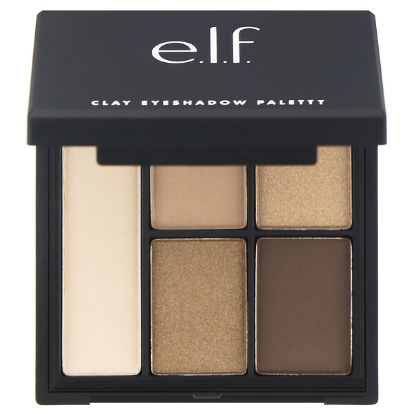 Clay Eyeshadow Palette, Necessary Nudes, 0.26 oz (7.5 g)