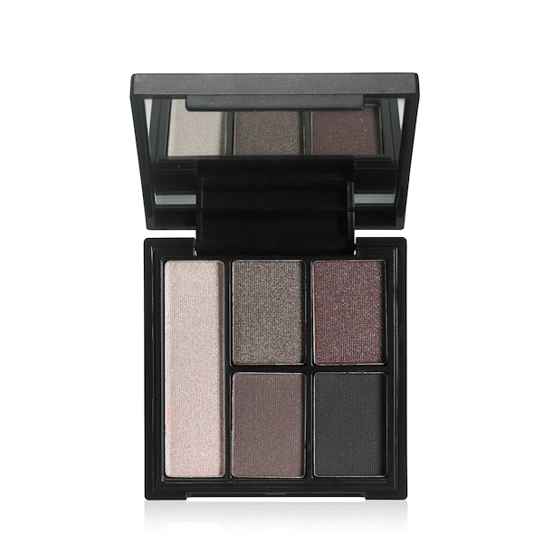 E.L.F., Clay Eyeshadow Palette, Smoked to Perfection, 0.26 oz (7.5 g) (Discontinued Item)