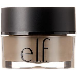ЕЛФ Косметикс, Lock On, Liner And Brow Cream, Medium Brown, 0.19 oz (5.5 g) отзывы покупателей