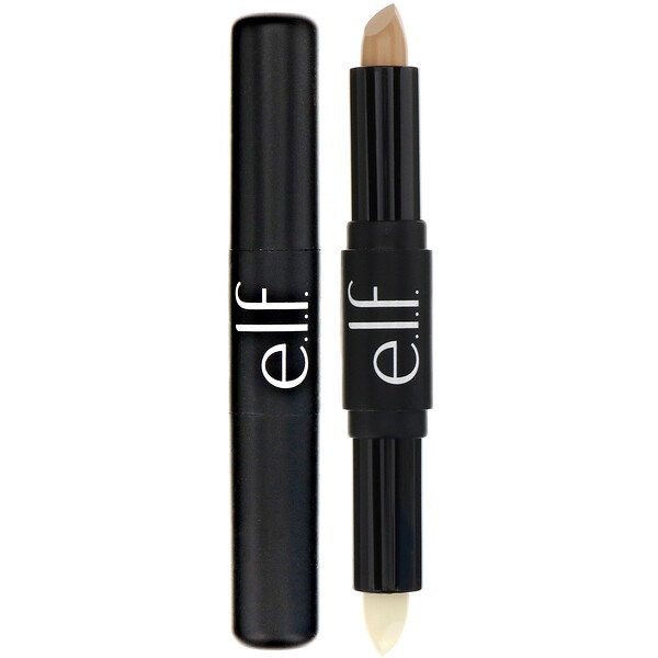 E.L.F., Lip Primer & Plumper, Clear/Natural, 0.05 oz (1.6 g)/0.06 oz (1.7 g) (Discontinued Item)