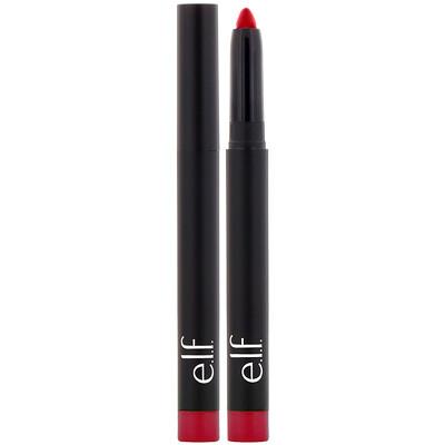 Матовая губная помада-карандаш, насыщенный красный, 0,05 унций (1,4 г)
