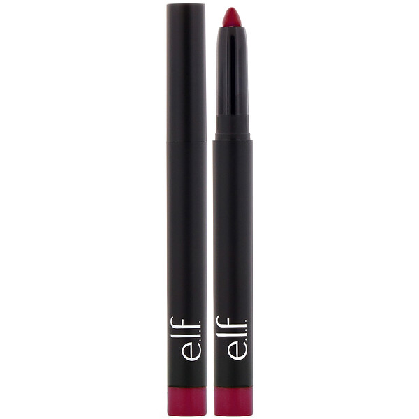 E.L.F., Matte Lip Color, Wine, 0.05 oz (1.4 g) (Discontinued Item)