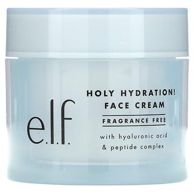 E.L.F. Holy Hydration! Face Cream, Fragrance Free, 1.8 oz (50 g)