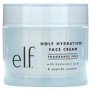 E.L.F., Holy Hydration 面霜,无香,1.8 盎司(50 克)
