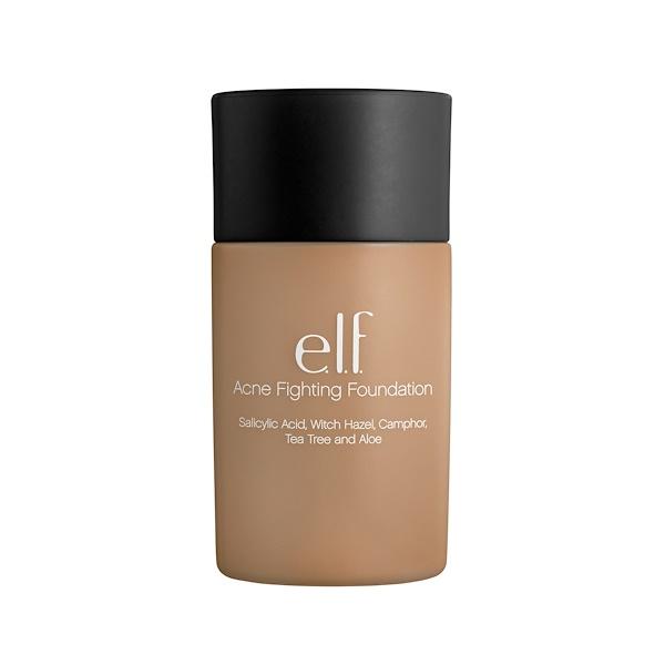 E.L.F., Acne Fighting Foundation, Sand, 1.21 fl oz (36 ml) (Discontinued Item)