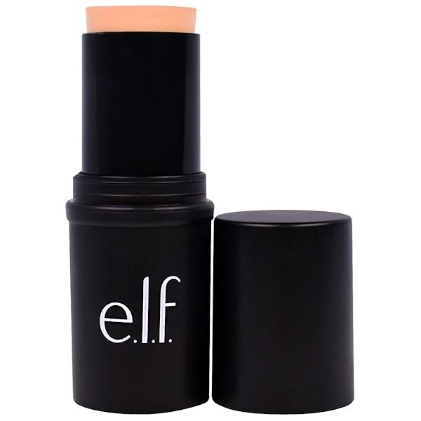 E.L.F., Moisturizing Foundation Stick, Ivory, 0.49 oz (14 g) (Discontinued Item)