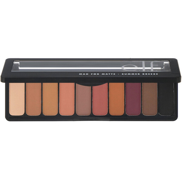E.L.F., Mad for Matte Eyeshadow Palette, Summer Breeze, 0.49 oz (14 g)