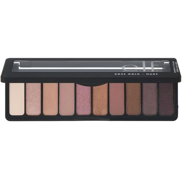 Rose Gold Eyeshadow Palette, Nude, 0.49 oz (14 g)
