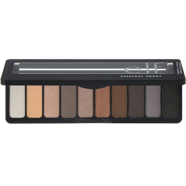 E.L.F., Palette de fards à paupières, Everyday Smoky, 14 g