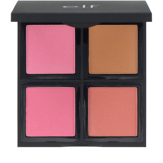 E.L.F. Cosmetics, Blush Palette, Light, Powder, 0.56 oz (16 g)