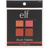 E.L.F. Cosmetics, ブラッシュ・パレット、ダーク、パウダー、.56オンス(16g)