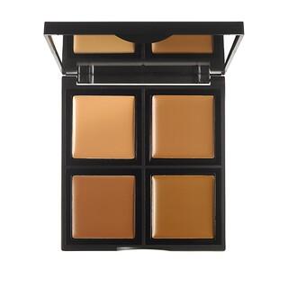 E.L.F. Cosmetics, 파운데이션 팔레트, 미디엄 / 다크, 0.43 온스 (12.4 g)
