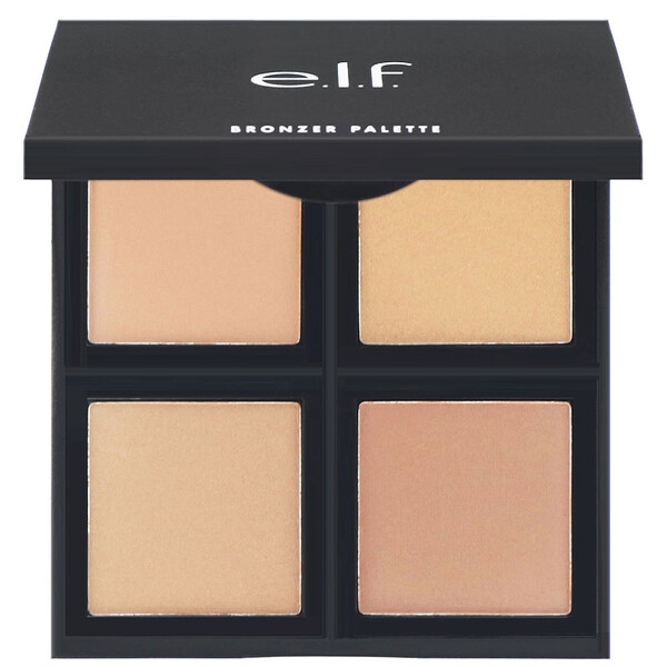 E.L.F. Cosmetics, Bronzer Palette, Bronze Beauty, 0.49 oz (13.9 g)