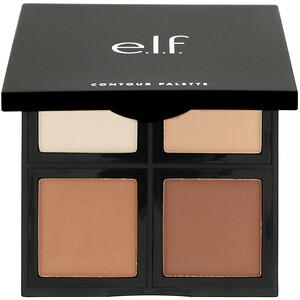 ЕЛФ Косметикс, Contour Palette, 4 Shades, 0.56 oz (16 g) отзывы покупателей