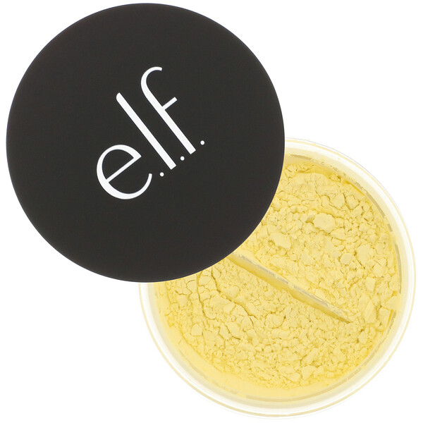 E.L.F., High Definition Powder, Corrective Yellow, 0.28 oz (8 g)