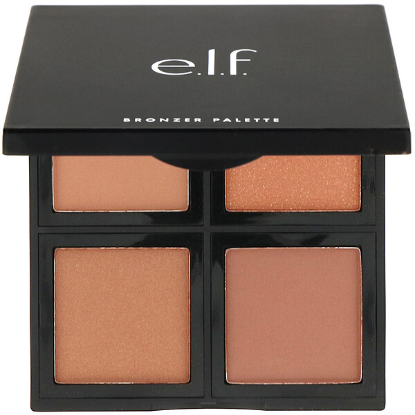 E.L.F., Bronzer Palette, Deep Bronzer, 0.42 oz (12 g)