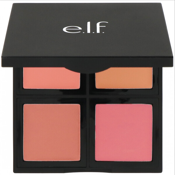 E.L.F., Cream Blush Palette, Soft, 0.43 oz (12.4 g)