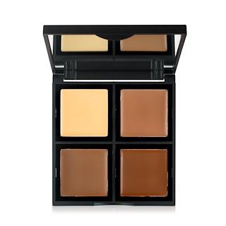 E.L.F. Cosmetics, 크림 윤곽 팔레트, 4 셰이드, 0.43 온스 (12.4 g)