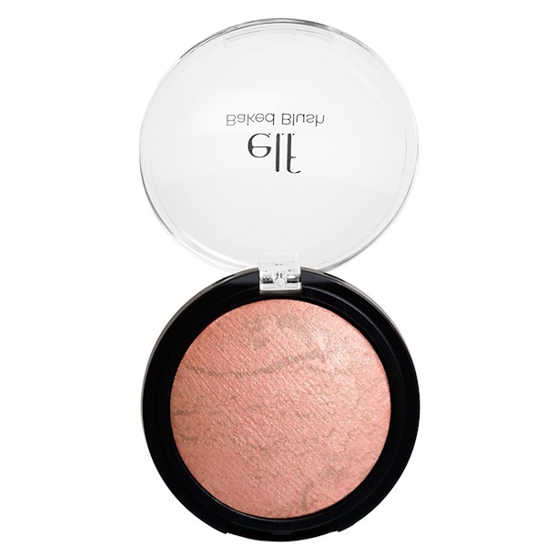E.L.F. Cosmetics, Baked Blush, Peachy Cheeky, 0.21 oz (6 g) (Discontinued Item)
