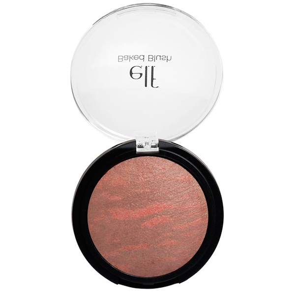 E.L.F. Cosmetics, Baked Blush, Rich Rose, 0.21 oz (6 g) (Discontinued Item)