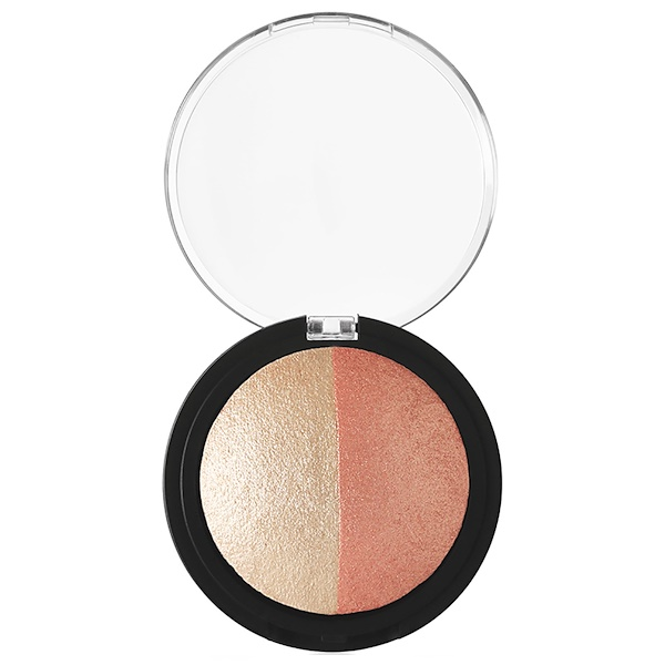 E.L.F. Cosmetics, Baked Highlighter & Blush, Rose Gold , 0.183 oz (5.2 g)