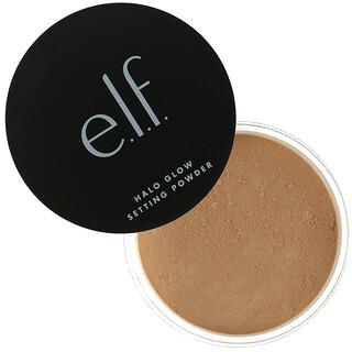 E.L.F., Halo Glow Setting Powder, Medium, 0.24 oz (6.8 g)