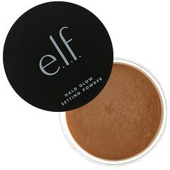 E.L.F., Halo Glow 定妝粉,中性米色,0.24 盎司(6.8 克)