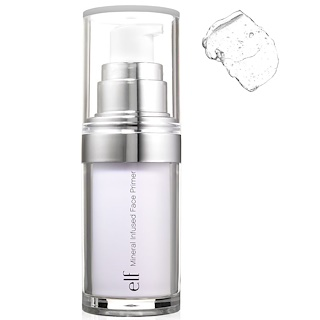 E.L.F. Cosmetics, ミネラルが注入されているファイスプライマー, クリア, 0.49 oz (14 g)