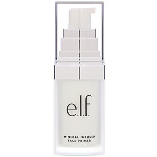 E.L.F., Base para el rostro con infusión mineral, transparente, 0,49 oz (14 g)