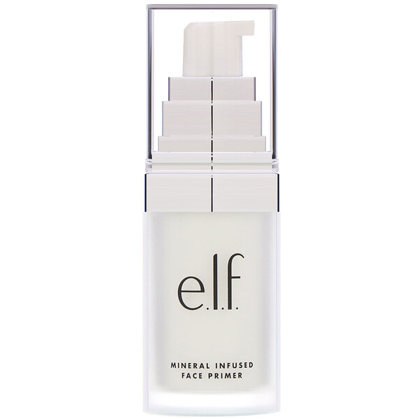 Mineral Infused Face Primer, Clear, 0.49 oz (14 g)