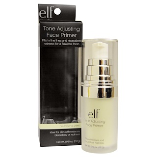 E.L.F. Cosmetics, Tone Adjusting Face Primer, Neutralizing Green, 0.48 oz (13.7 g)