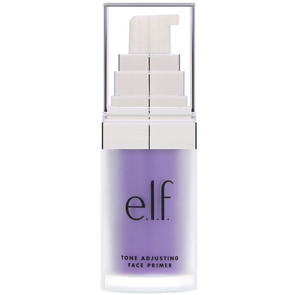 E.L.F., Tone Adjusting Face Primer, Brightening Lavender, 0.47 fl oz (14 ml)