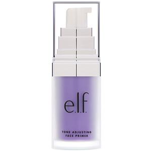 ЕЛФ Косметикс, Tone Adjusting Face Primer, Brightening Lavender, 0.47 fl oz (14 ml) отзывы покупателей
