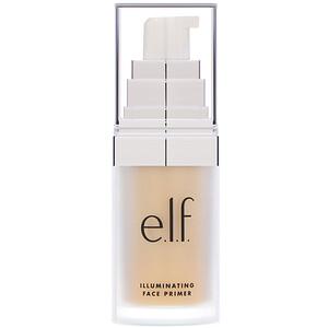 ЕЛФ Косметикс, Illuminating Face Primer, Radiant Glow, 0.47 fl oz (14 ml) отзывы