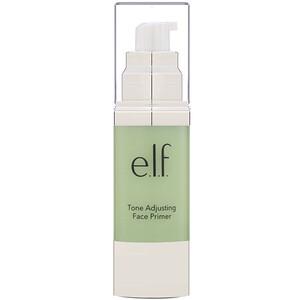 ЕЛФ Косметикс, Tone Adjusting Face Primer, 1.01 fl oz (30 ml) отзывы покупателей