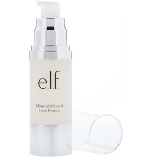 E.L.F. Cosmetics, Mineral Infused Face Primer, Clear, 1.01 fl oz (30 ml)