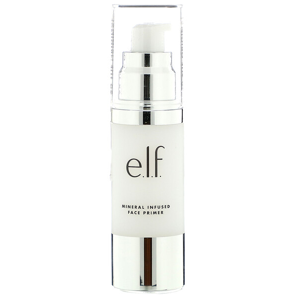E.L.F., Mineral Infused Face Primer, Clear, 1.01 fl oz (30 ml)