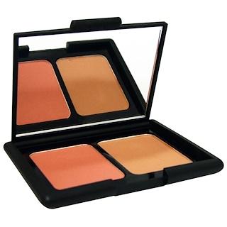 E.L.F. Cosmetics, コンタリングブラッシュ&ブロンジングパウダー、フィジーマット、0.30 oz (84 g)