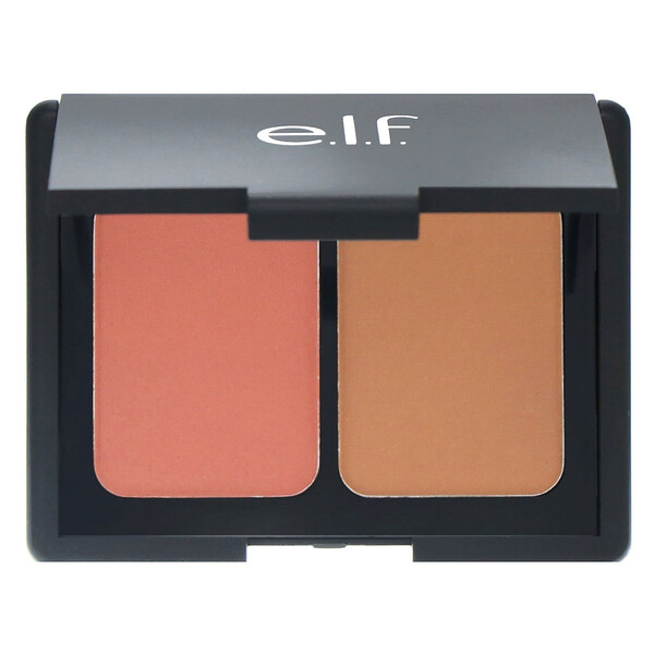 E.L.F., Matte Contouring Blush & Bronzing Powder, Fiji, 0.30 oz (8.4 g) (Discontinued Item)