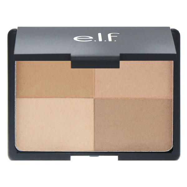 E.L.F., Bronzer, Golden, 4 Shades, 0.53 oz (15 g)