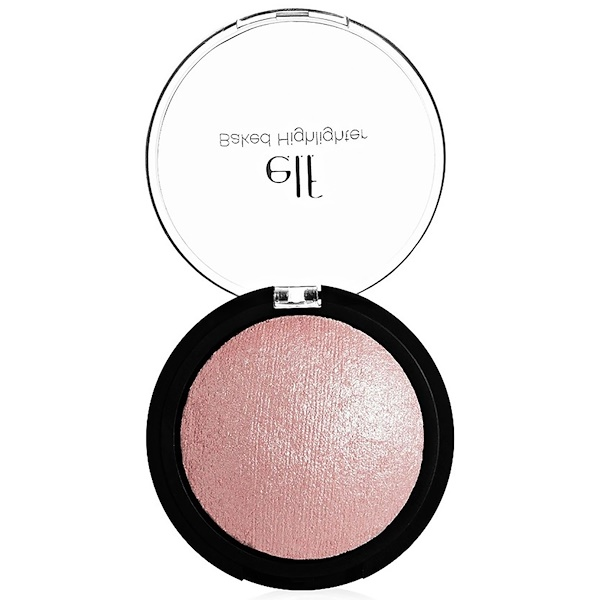 E.L.F. Cosmetics, ベイクドハイライター, ピンクダイヤモンド, 0.17 oz (5 g)