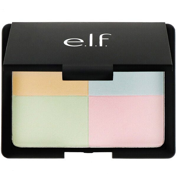 E.L.F., Tone Correcting Powder, Cool, 0.48 oz (13.5 g) (Discontinued Item)