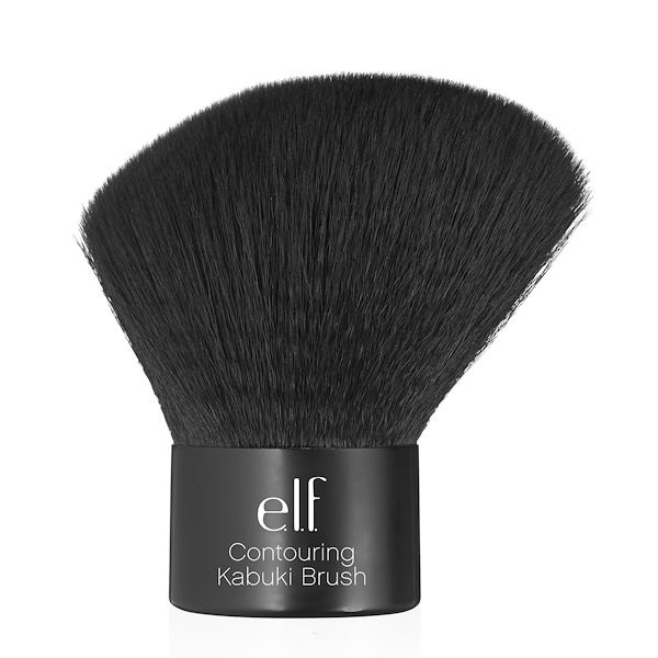 E.L.F., Studio, Contouring Kabuki Brush, 1 Brush (Discontinued Item)